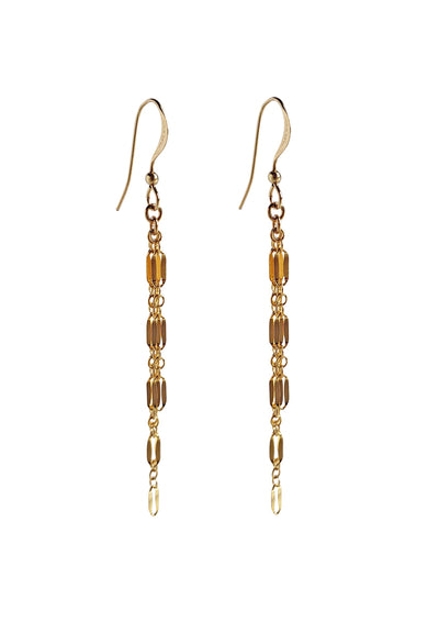 Karlie Gold Fringe Earrings *As Seen On BH90210*