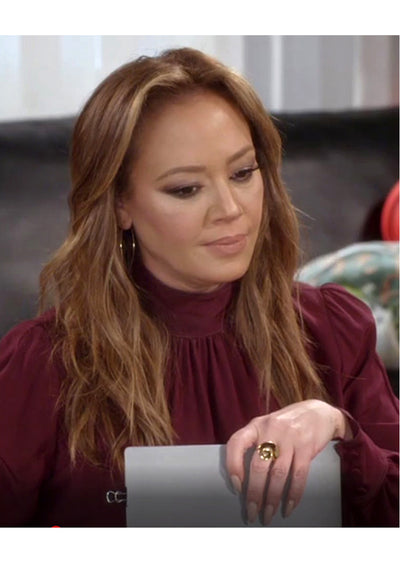 Gwen Gold Large Hoops *As Seen On Leah Remini and HTGAWM*