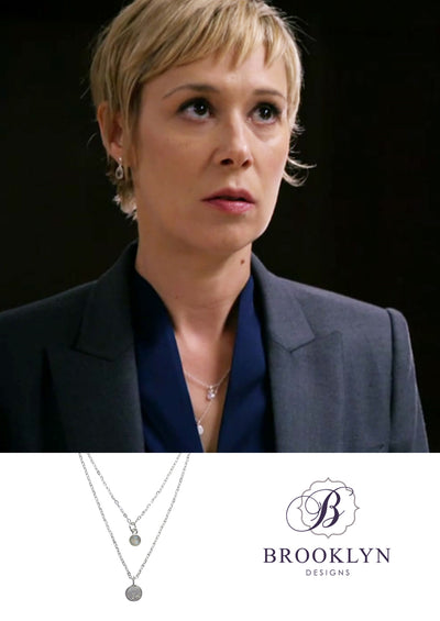 Lindsay Silver Necklace *As Seen On How To Get Away With Murder*