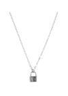 Love Lock Silver Necklace