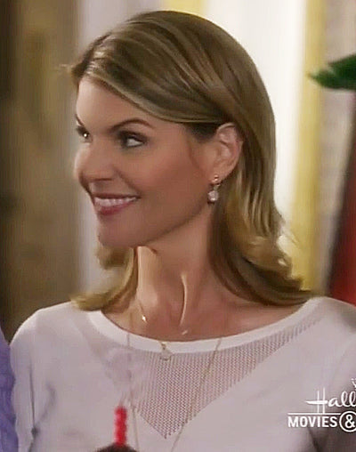 Monica Druzy Gold Earrings *As Seen On Lori Loughlin*