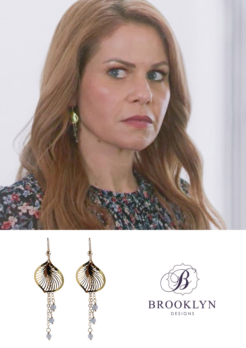 Mabelle Gold Earrings *As Seen On Candace Cameron Bure*
