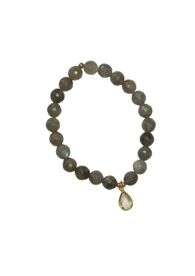 Margo Labradorite Gold Bracelet *As Seen On How To Get Away With Murder*