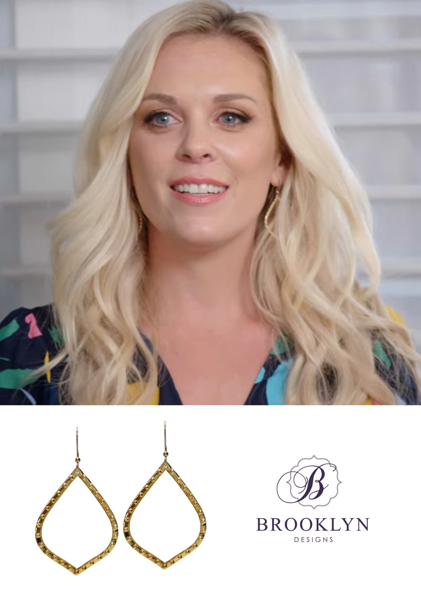Mariah Gold Hoop Earrings *As Seen On Kortney Wilson and BH90210*
