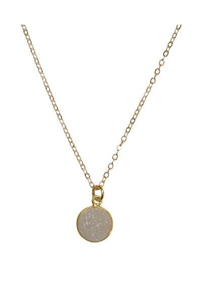 Monica Druzy Gold Necklace *As Seen On The Bachelorette and Lori Loughlin*