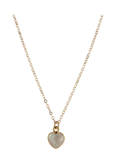 Philou Rainbow Moonstone Gold Necklace *As Seen On Candace Cameron Bure*