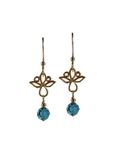 Vega earrings worn on Picture Perfect Mysteries