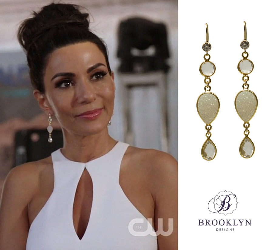 Cora Gold Earrings *As Seen On Riverdale*
