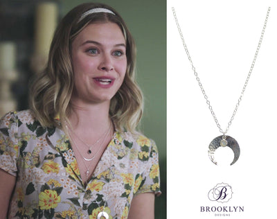 Ophelia Long Silver Necklace * As Seen On Riverdale *