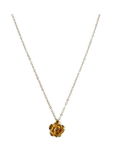Rosa Gold Necklace *As Seen On Candace Cameron Bure*