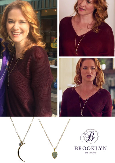 Leo Gold Necklace *As Seen On BH 90210 and Sarah Drew*