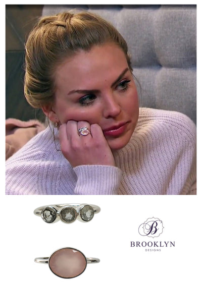 Stacking rings as seen on The Bachelorette