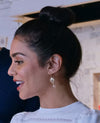Theron Gold Earrings *As Seen On Vanessa Hudgens*