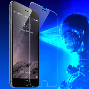 Anti Blue Light Screen Protect From Retina Damage Tempered Asahi Glass Designed to Fit 6 and 6s Plus