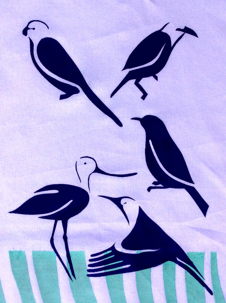 Medley of Birds Tea Towels