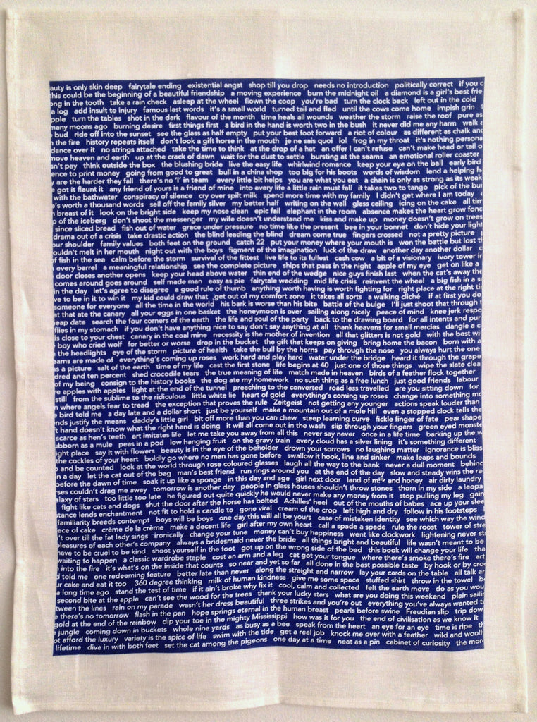 Cliché Tea Towel