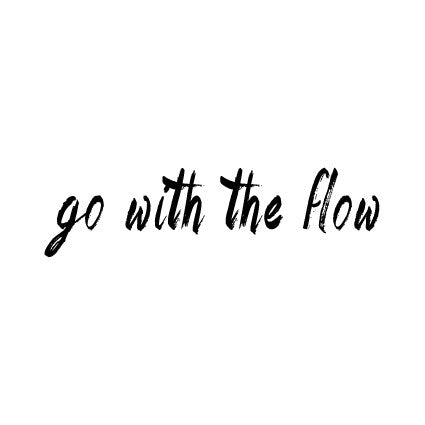 go with the flow is a temporary tattoo by tattstr christian pleasant