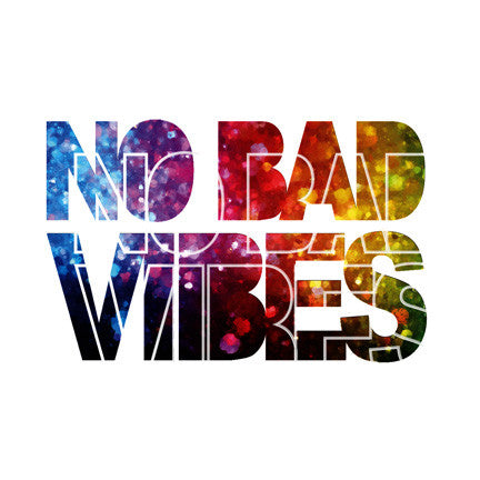 no bad vibes a coloured temporary tattoo by tattstr christian pleasant