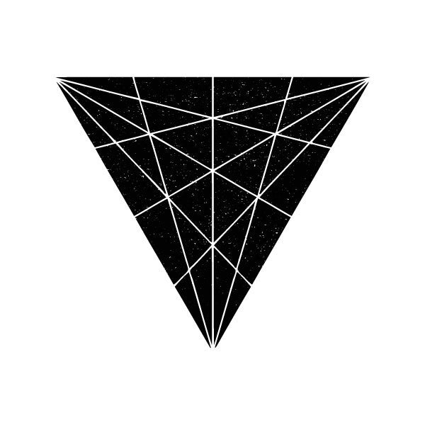 triangle trilines temporary tattoo by tattstr christian pleasant