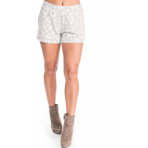 FALLON LEOPARD SHORTS