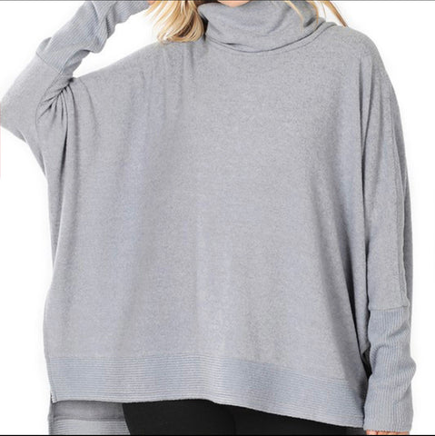 ADDY COWL NK OVERSIZED SWEATER
