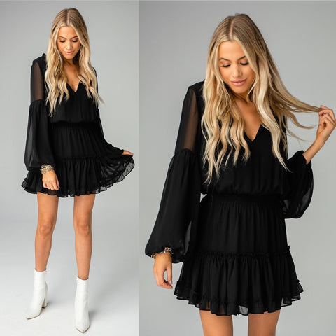 ZOZO BLACK DRESS