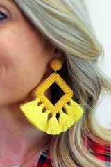 ELLIE FRINGE EARRINGS