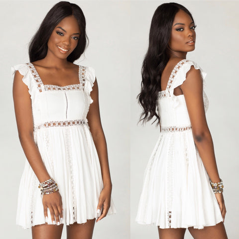 ADAMS WHITE DRESS