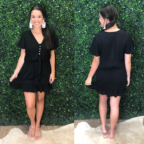 KELA BLACK DRESS