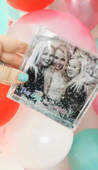 SMALL FLOATING GLITTER FRAME