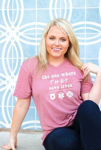 THEY SAVE LIVES TEE