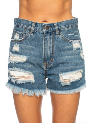 MEG DENIM SHORTS