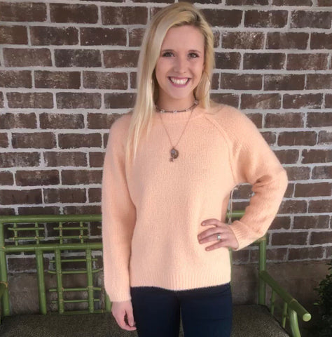 ORANGE SHERBET SWEATER