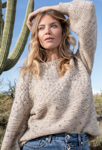 BIRCH CABLE SWEATER