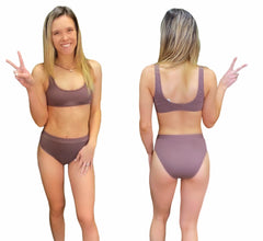 TAUPE SWIMSUIT