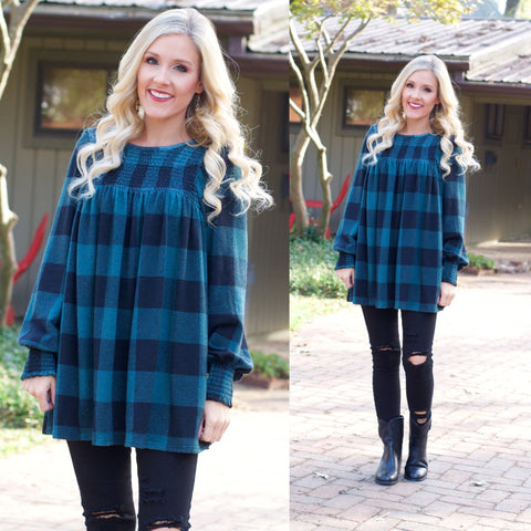EMORY FLANNEL TOP