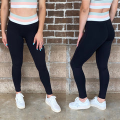 HANNAH TRICOLOR LEGGINGS