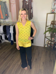 CITRON YELLOW TANK