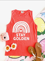 STAY GOLDEN TANK