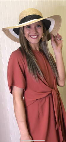 LAURIE BRIMMED HAT
