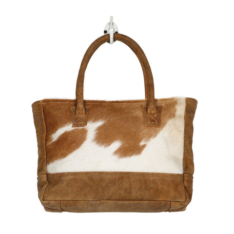 LITTLE PRINCESS SMALL COWHIDE PURSE