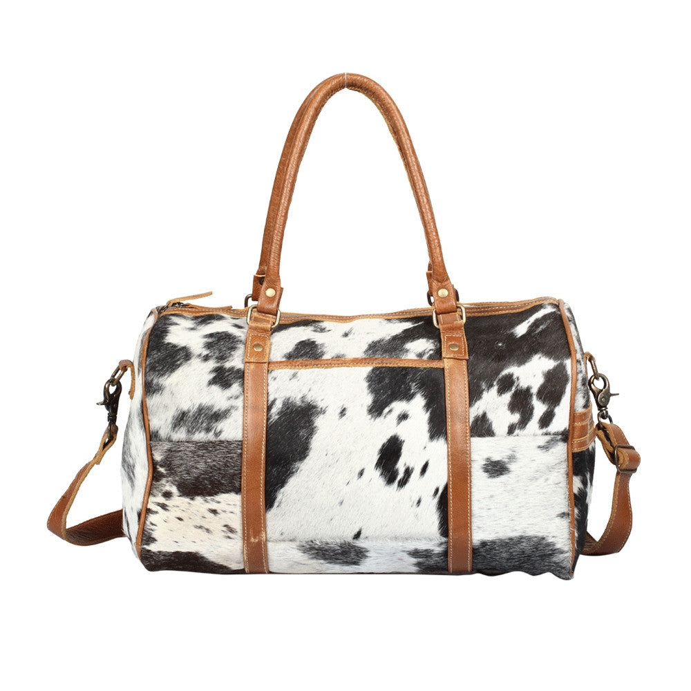 ONYX COWHIDE TRAVELLER BAG