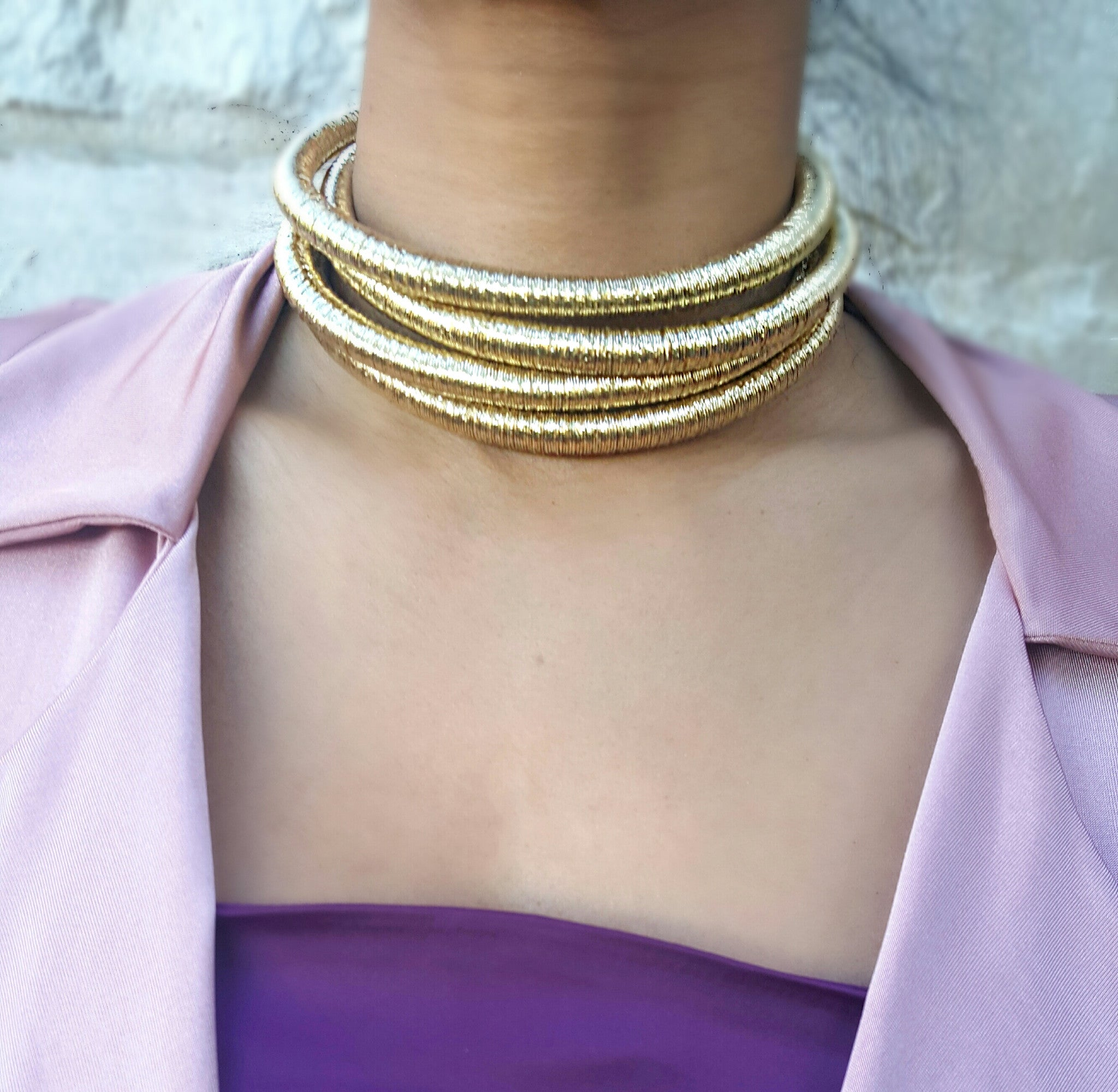 Golden Ropes Choker (OUT OF STOCK)