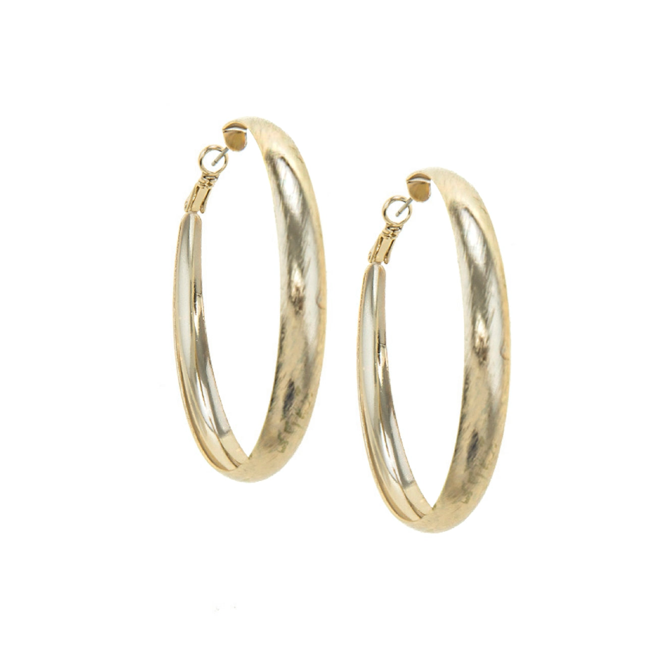 90's Style Hoops (Gold)