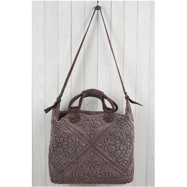UC Luxe: Beaded Elegance Weekender Tote (2 Options)