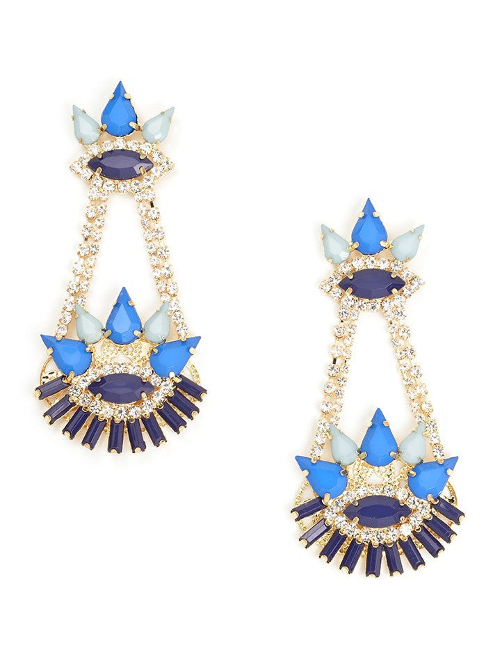 UC Luxe: Vision Chandelier Statement Earrings