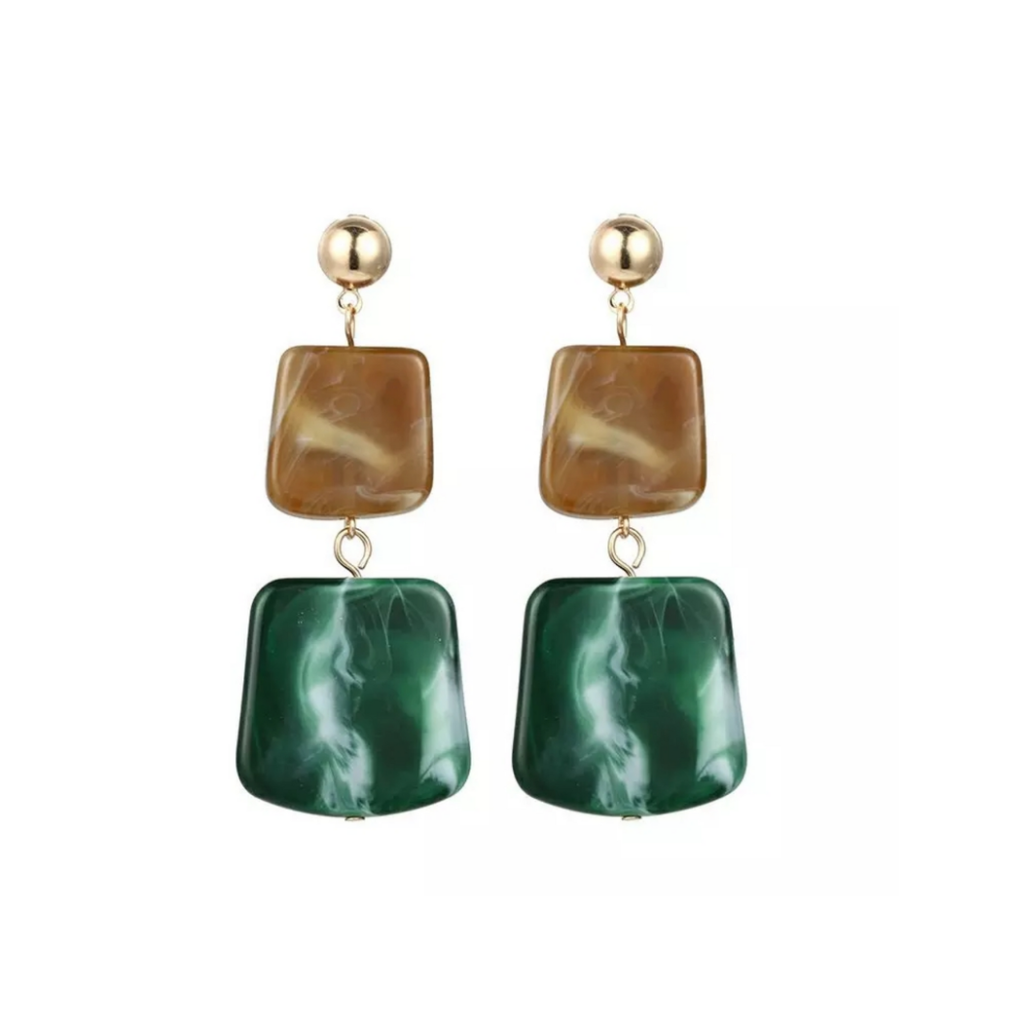Marble Earrings - 3 (NEW)