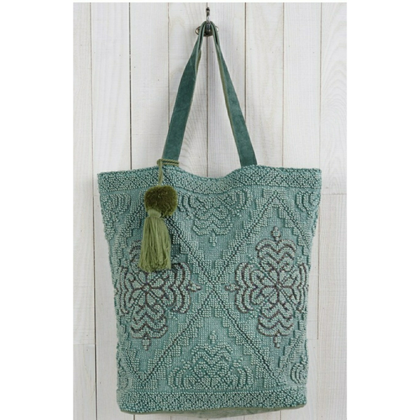 *PREORDER* UC Luxe: Beaded Elegance Tote (Ships by 12/13)