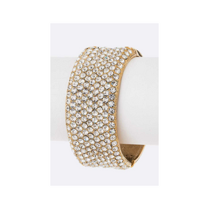 Glam Crystal Bangle