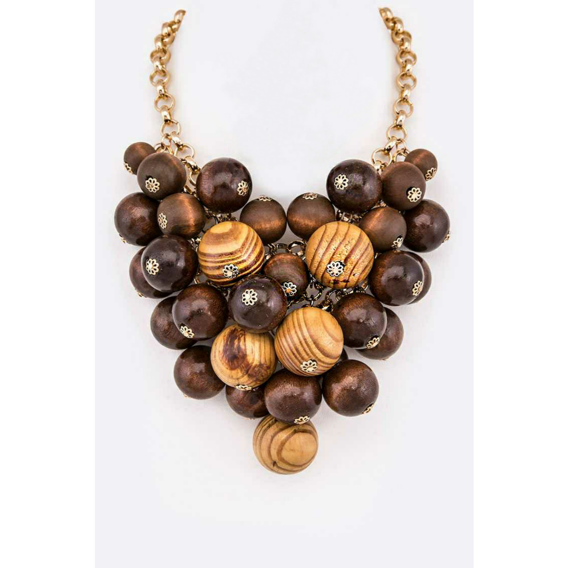Tahitian Vibes Statement Necklace
